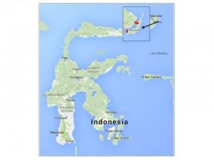 Lembeh map